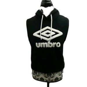 Umbro sleevless hooded sweatshirt